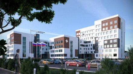 В Воронеже ещё раз попытаются найти подрядчика для поликлиники в будущем социальном узле