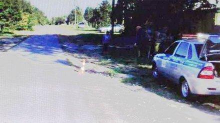В Воронежской области подросток на мотоцикле переехал 9-летнюю девочку