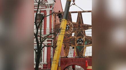 Воронежцам предложили раскрасить советские «звёзды» на проспекте Революции