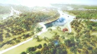 Зарубежные архитекторы предложили затопить часть воронежского Центрального парка