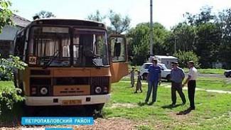 Житель села Старая Криуша пытался угнать школьный автобус