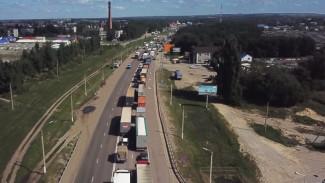 Пробка в сторону Воронежа по трассе М-4 «Дон» достигла 10 км