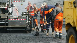 На въезде в Воронеж со стороны Москвы из-за дорожных работ временно сузили дорогу