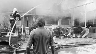 Воронежцы начали сбор денег для потерявшей дом в пожаре семьи с ребёнком