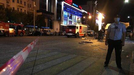 Следователи назвали три версии взрыва автобуса в центре Воронежа