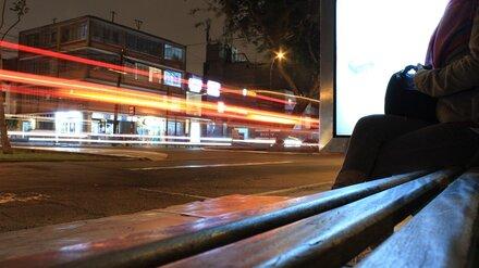 Воронежцы нашли на автобусной остановке труп мужчины
