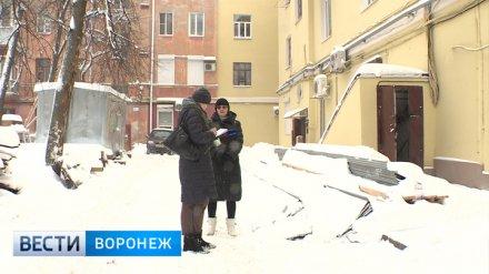 СК проверит сообщения об аварийном состоянии дома в центре Воронежа после капремонта