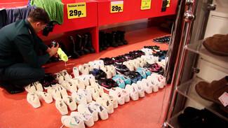 От печенья до обуви. Воронежская таможня выявила более 100 тыс. контрафактных товаров