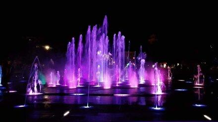 В Воронеже на 5 дней отключат фонтаны на Советской площади