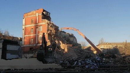 Снос старинного хлебозавода в центре Воронежа привёл к уголовному делу