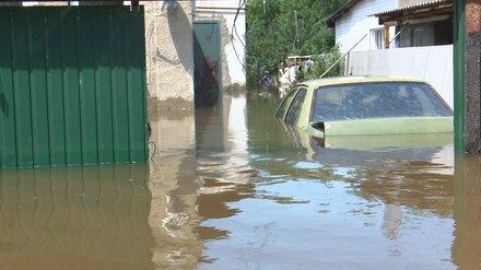 В Воронеже из-за затопления домов после аварии запланировали ввести режим ЧС