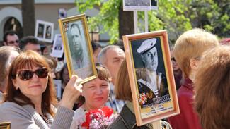 «Бессмертный полк» в Воронеже собрал рекордное число участников
