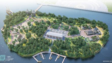 В Воронеже передумали делать парк на Петровском острове