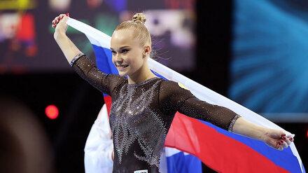 Гимнастке Ангелине Мельниковой присвоили звание «Почётный гражданин Воронежа»