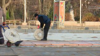 В Воронеже начали искать подрядчика для установки катков на площади Ленина