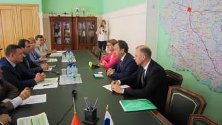 В Тамбове прошла встреча Владимира Салмина с руководством региона