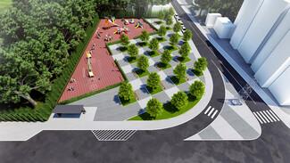 В Воронеже на месте дореволюционного здания появится сквер с детской площадкой