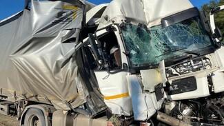 В Воронежской области водитель КамАЗа пострадал в ДТП с фурой из Перми