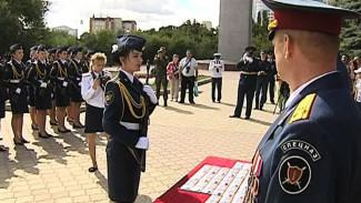 Первокурсники Воронежского института ФСИН России приняли присягу