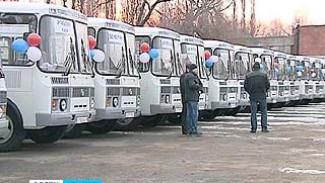 На старые маршруты выходят новые автобусы. В районах области обновят автопарк
