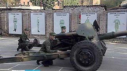 На военной кафедре ВГУ начались практические занятия