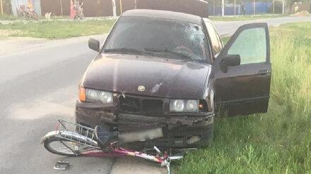 В Воронежской области водитель BMW сбил 15-летнюю девочку на велосипеде