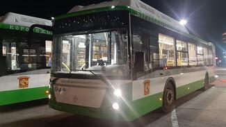 В Воронеж прибыли ещё 29 современных низкопольных автобусов