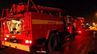 В Воронеже при пожаре в пятиэтажке пострадал 6-летний мальчик