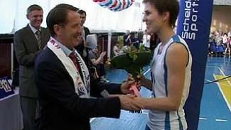 Алексей Гордеев болел за воронежских волейболисток