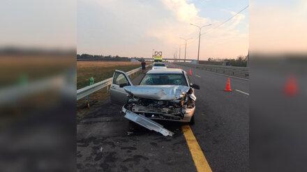 В Воронежской области в ДТП с грузовиком пострадали трое ставропольцев
