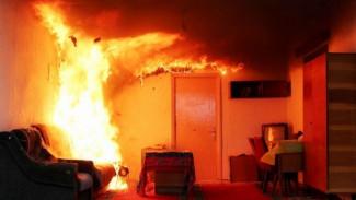 В Воронеже пожарные спасли из горящей квартиры пенсионера
