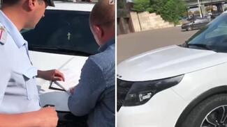 Воронежские полицейские поймали водителя с 89 неоплаченными штрафами