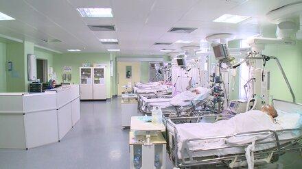 В Воронежской области сильно сократилось число коек для больных COVID-19