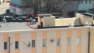 Оказавшиеся на самоизоляции липчане начали гулять с колясками по крышам