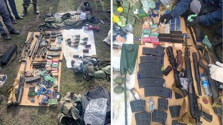 В машине воронежского подрывника-убийцы нашли арсенал оружия и боеприпасов
