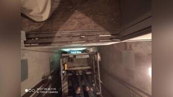 Появились фото с места падения лифта с семьёй и младенцем в Воронеже
