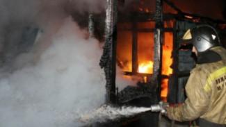В Воронежской области на пепелище дома нашли тела трёх человек