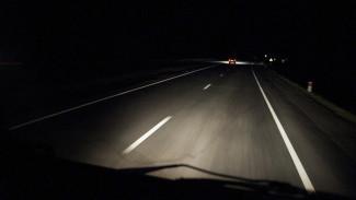 В Воронежской области иномарка переехала спящего на дороге мужчину