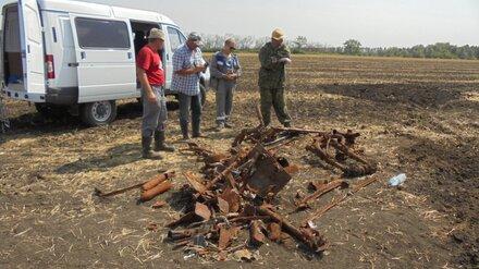 В Воронежской области нашли обломки военного штурмовика Ил-2