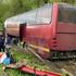 В Воронежской области автобус с 44 пассажирами из-за порывистого ветра попал в ДТП