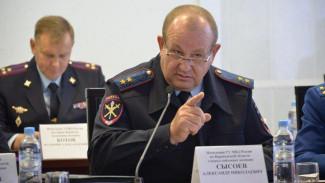 Владимир Путин отправил в отставку главу воронежской полиции Александра Сысоева