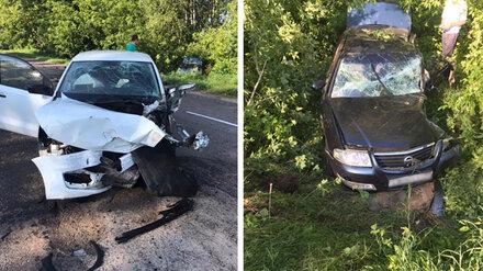 В жутком ДТП на трассе в Воронежской области разбились двое водителей