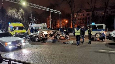 Очевидцы об аварии с четырьмя погибшими в Воронеже: «Водитель Hyundai гнал 160 км/ч»