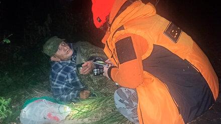 Поисковики из Воронежской области спасли потерявшегося под Тамбовом дедушку-грибника