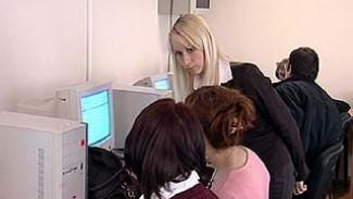 Уровень безработицы в Воронежской области упал до 2,7%