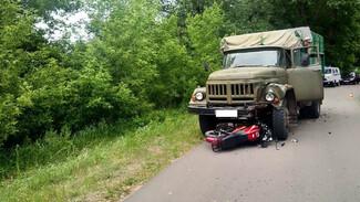 Воронежский СК возбудил уголовное дело после гибели 14-летнего байкера в ДТП с грузовиком