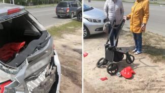 Полиция поймала водителя, который врезался в 6 машин и снёс детскую коляску в Воронеже