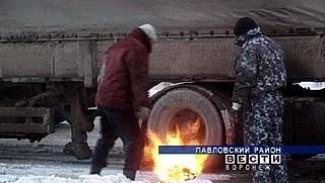 К суровым морозам дорожные службы и водители области оказались не готовы