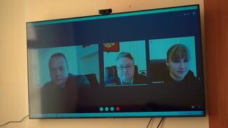 Воронежцы попали на виртуальный приём к мэру