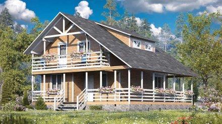 Воронежцы смогут купить деревянные дома под ключ по ценам от производителя